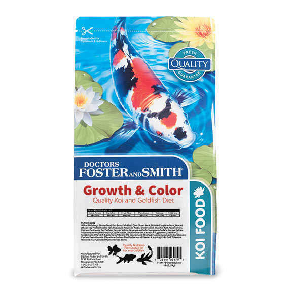 Growth & Color Koi Food by Drs. Foster & Smith